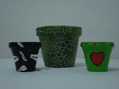 Vasos em Ceramica