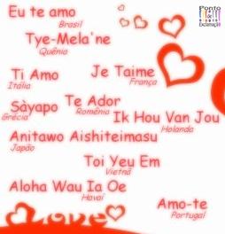 Palavra De Deus E Reflexão Como Dizer Eu Te Amo Em Outras Línguas