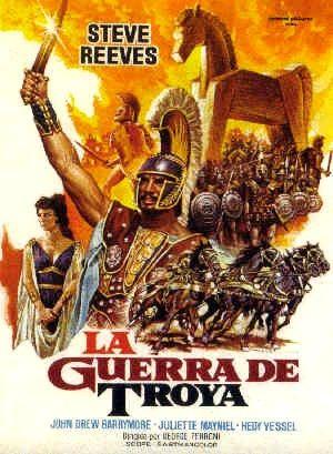 Compras cinéfilas Guerra+troya
