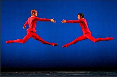 The new york times has a small portfolio of andrea mohin s dance