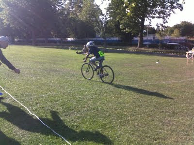 The penultimate round of our Grass Track Racing League was held ...