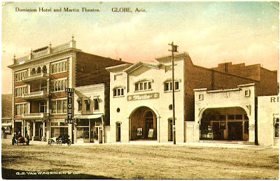 The Town Was Built Around A Single Main Street Broad Seen Here About 1913 This Is Block Between Oak And Sycamore On West Side Of