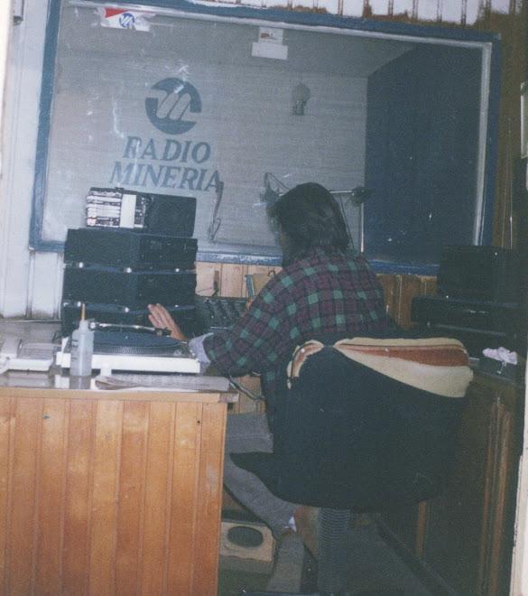 sala control radio minería