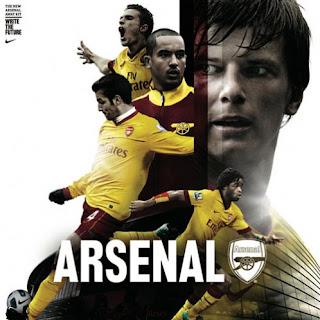 Arsenal new jersey 2011