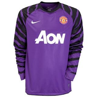 Man Utd new goalkeeper kit