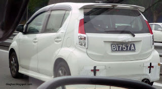 New Perodua Model