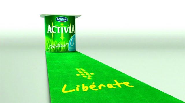 Imagen del anuncio Danone Activia