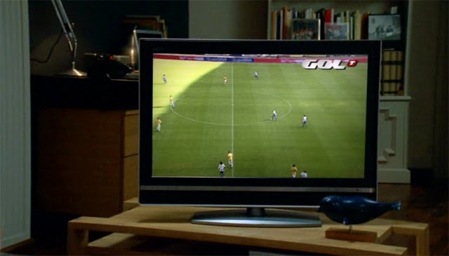 Escena del anuncio Movistar Imageniao con Gol TV Padre e hijo