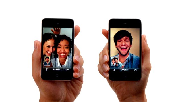 Escena del anuncio del nuevo iPod Touch