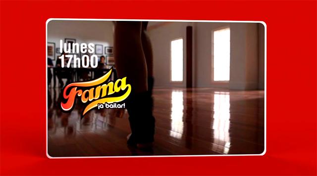 Imagen de la Promo Cuatro Fama ¡a bailar!