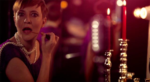 Eva Hache en la promo de La Sexta de El Club de la Comedia