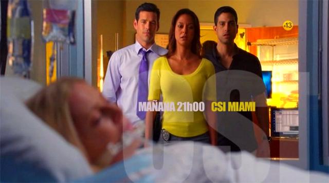 Promo Telecinco Series CSI Miami y CSI Nueva York