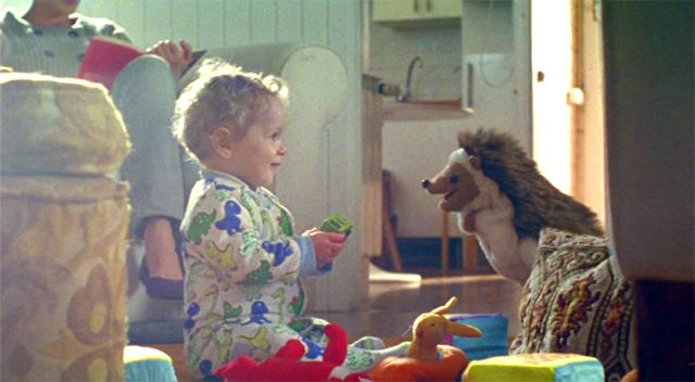 Bebé y Rizo el erizo
