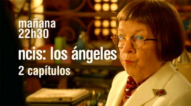 Linda Hunt en la Promo Series Cuatro NCIS: Los Ángeles 5ª Semana Enero 2011