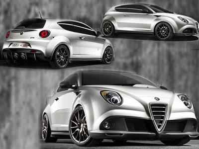 2009 Alfa Romeo Mito Gta Concept. 2009 MiTo GTA Alfa Romeo