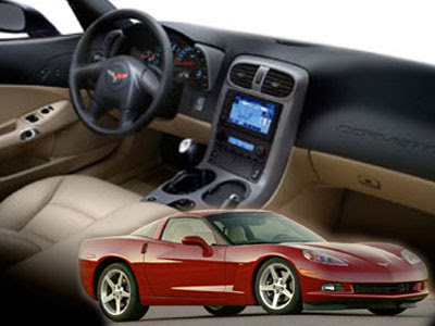Sport Car C6 Chevrolet Corvette LS2