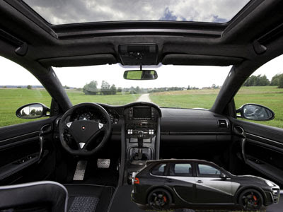 Sports car mansory chopster porsche cayenne super sports cars modified v8 engine - Super sayenne ...