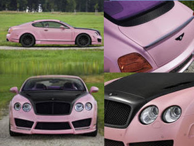 Sport Car Mansory Vitesse Rose Sports Car Special Edition Of The