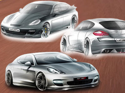 SpeedART Turbo Porsche Panamera Sports Car