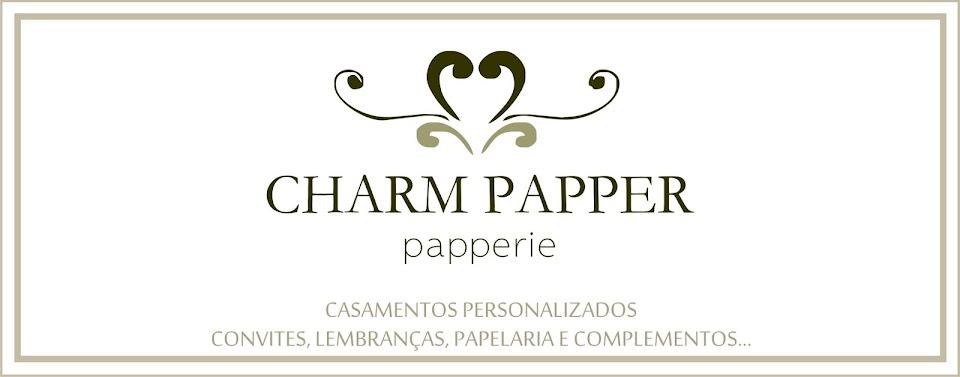 CHARM PAPPER - CONVITES DE CASAMENTO, CONVITES PARA FESTAS E EVENTOS E LEMBRANÇAS PERSONALIZADAS