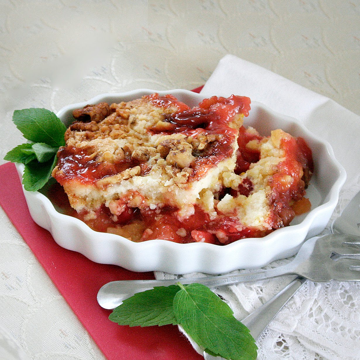 ... Grateful Prayer and a Thankful Heart: Cherry Pineapple Dump Cake