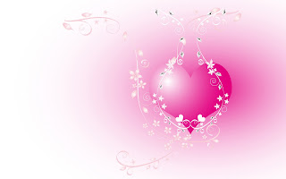 Beautiful Pink of Love Wallpaper