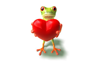 Love from Frog Wallpaper