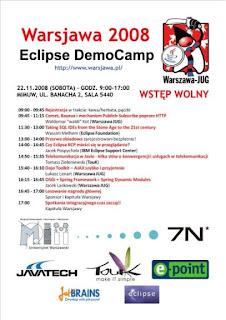 Warsjawa Eclipse DemoCamp 2008