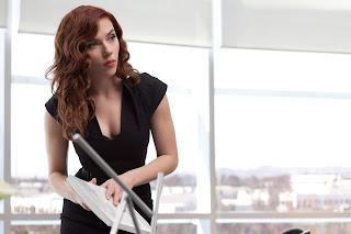 Scarlett Johansson en IronMan 2