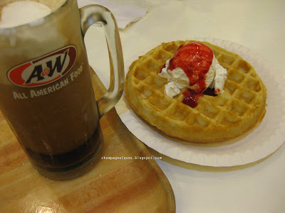 Waffles and Root Beer