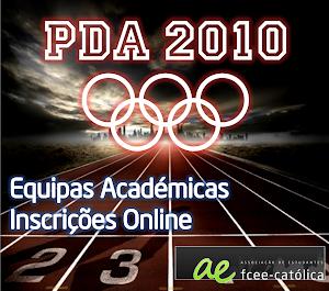 PDA 2010 - Faz a tua Inscrição