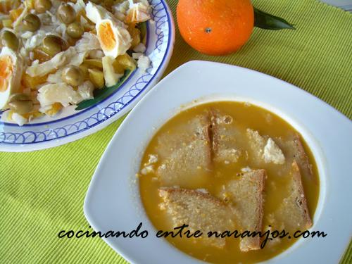 cocinando entre naranjos sopas cachorre as y ensalada de