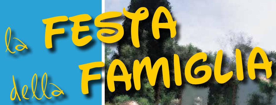 La seconda edizione della festa della famiglia si svolgerà domenica