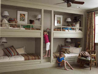 bunk bed room designs