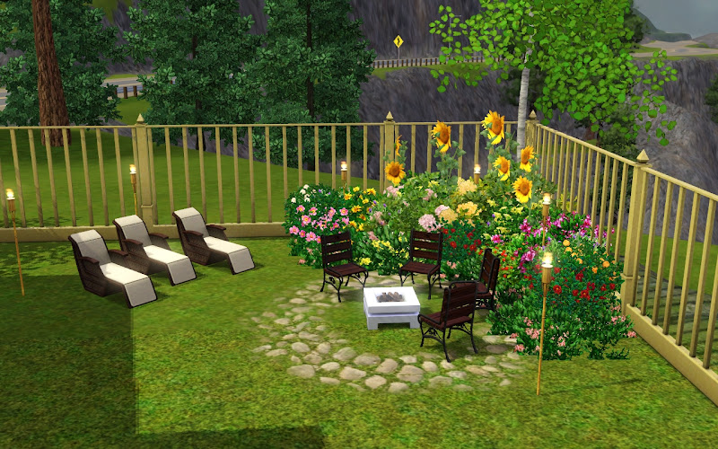 here your sim can entertain their gues for a bbq party title=