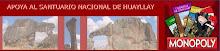 Apoya  con tu voto al Santuario Nacional de Huayllay