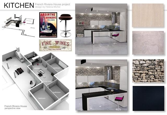 Presentation Boards French Riviera Project Classic Interior Design