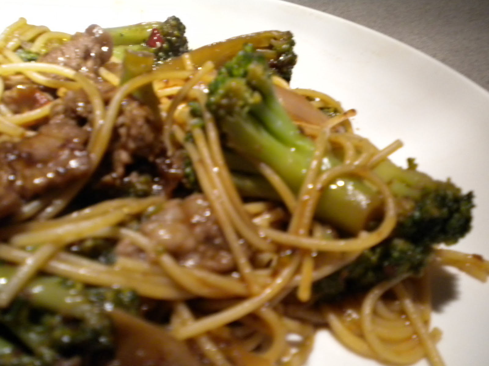 Beef Broccoli lo Mein Beef And Broccoli lo Mein