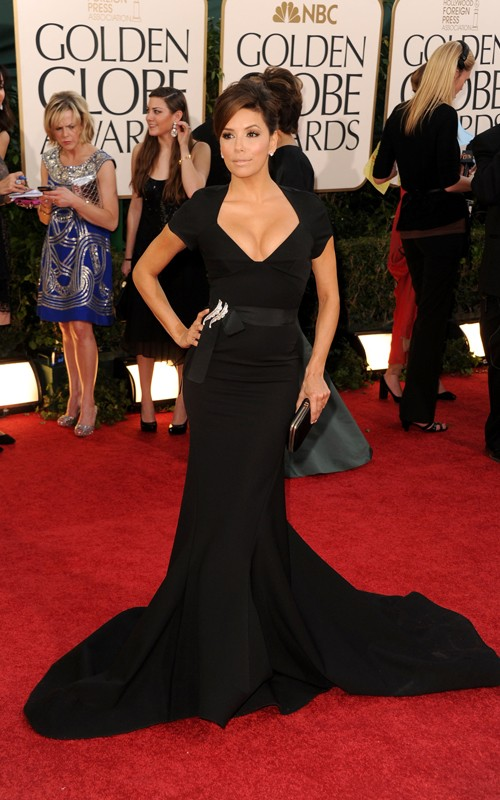 "Favourites from the Gloden globes 2011. Eva Longoria, hot ""sweet revenge"""