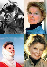 KATHERINE HEPBURN as Ethel Thayer in ON GOLDEN POND