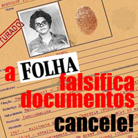 Cancele a Folha