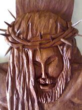 estatueta de cristo