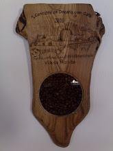 Trofeu de doçaria com café