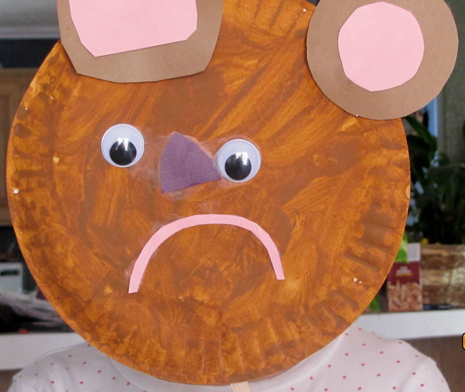 The Finished Koala Mask Activityvillage Htm Short News