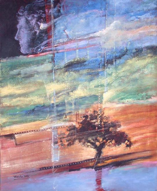 España, óleo tela 100 x0 81 cm