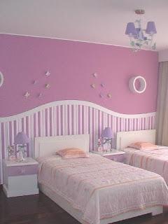 Dise o de interiores dormitorios infantiles ni as - Dormitorios infantiles de diseno ...