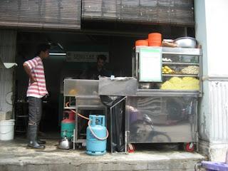 Bangkok Lane Mee Goreng Stall @ Penang
