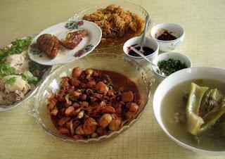 Stir Fry Ngaku / Chai Buey / Steam Chicken / Char Mangkuang@ Chinese New Year