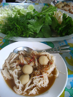 Kanom Jeen @ Thai Rice Noodles