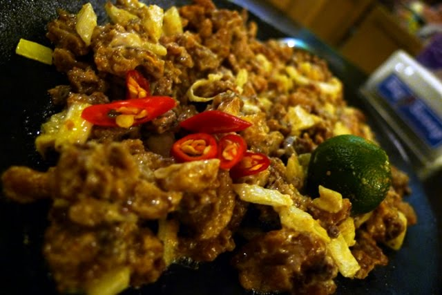 Pork Sisig @ Manila, Phillipines